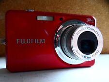 fujifilm j32 12.2 megapixel digital camera / red.