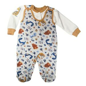 BNWT Baby Infant Boys 2 Piece Set Outfit 100% COTTON **0-3 Months