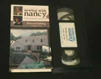 Pictorial Quilting Sewing With Nancy VHS learn to sew how to video Zieman