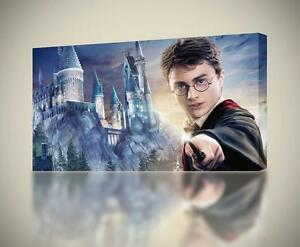 Harry Potter Hogwarts CANVAS PRINT Wall Art Decor Giclee *4 Sizes* CA138