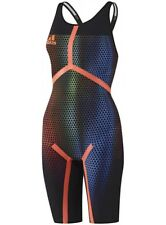 Adidas adizero XVI Womens Free Style Kneesuit Open Back Pro Swimwear Gr. D32