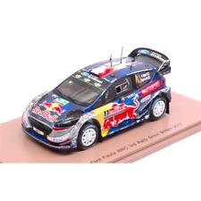 FORD FIESTA WRC N.1 3rd GREAT BRITAIN 2017 S.OGIER-J.INGRASSIA 1:43 Spark Model