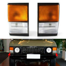 Corner Lamps New For Land Rover Range Rover Classic 1987-1995 Amber & Clear CB
