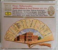 NEW Wiener Philharmoniker: Johann & Josef Strauss, 1929-1990 (CD 1991 BMG Ed.)