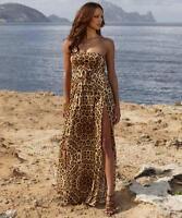Melissa Odabash Print Kaftan Maxi Dress Coverup S/M  UK8/10 RRP315GBP