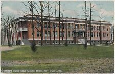 1910 FT WAYNE Indiana Ind Postcard BIBLE TRAINING SCHOOL
