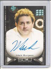 Stargate Universe Mark Burgess auto card