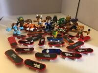 Tech Deck  Figures And Skater Dudes Lot of 38 pieces