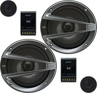 "***NEW*** Sony XS-GTX1621S Xplod GTX Series 6.5"" 2-way Component Speakers"