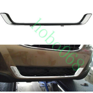 1pcs For Volvo XC60 2009-2012 Car Chrome ABS Front lower Grille Cover Trim Frame