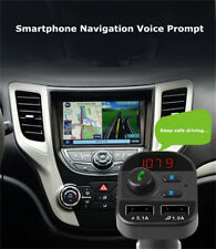 Universal Dual Usb Charger Bluetooth5.0 Audio Fm Transmitter for Car Phone Truck