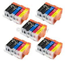 25 Patronenset für PIXMA MP500 MP510 MP520 IP5200R IP5300 IX4000 IX4000R IX5000