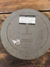 Vintage 16 mm 400 ft (approx. 121.92 m) Paillard Suiza Proyector bote de estaño carrete de película