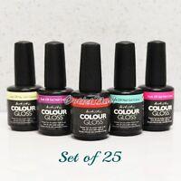 Artistic Nail Design Colour Gloss SET OF 25 Colors Gel Polish Lot Kit > SHIP 24H