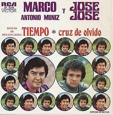 "Marco Antonio Muñiz & Jose Jose - Tiempo (7"" RCA Vinyl-Single Mexico 1975)"