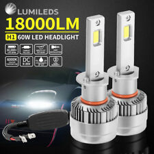 H1 18000LM LED CAR HEADLIGHT KIT HIGH LOW BEAM VEHICLE REPLACE HALOGEN XENON