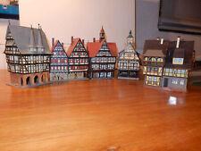 Konvolut Häuser, 5 Fachwerkhäuser Faller, Vollmer, Kibri Vintage