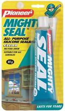 All Purpose Silicone Sealant; Clear for windows; Mighty Seal