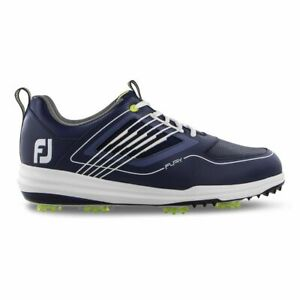 New in Box Footjoy Fury Men's Golf Shoe, Blue, #51101, Previous Season Style