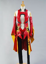 free shipping Guilty Crown Inori Yuzuriha Cosplay Costume