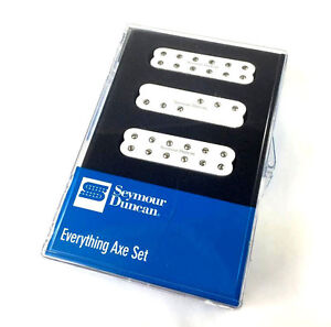 Seymour Duncan Everything Axe Pickup Set Fender Strat/Stratocaster® 11208-15-W
