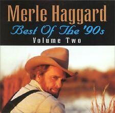 MERLE HAGGARD - BEST OF THE 90'S VOLUME TWO: CD ALBUM (2000)