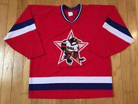 Vintage Russian Penguins IHL Hockey Jersey CCM Maska Men Size Large