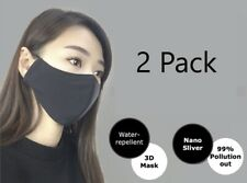 MIT Reusable Nano Silver Face mask (Pack of 2)
