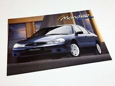 1997 Ford Mondeo Sedan Information Sheet Brochure - Turkish