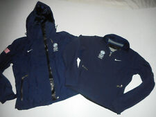 NIKE Team USA Winter Olympics 2 in 1 PARKA Fleece Jacket TORINO 2006 Women NEW L