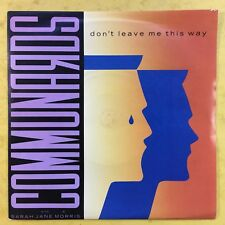 Communards - Ne Leave Me This Way - London Lon-103 Ex+ État