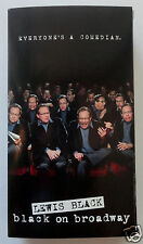 LEWIS BLACK: Black on Broadway - For Your Consideration VHS Video HBO Stand-Up