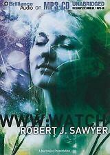 WWW : Watch by Robert J. Sawyer MP3-CD 12 hours