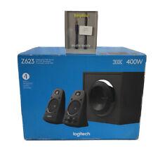 Logitech Z623 200 Watt Speaker System THX® Certified With New Aux Cable