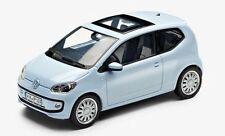 NEW GENUINE VW UP 2 DOOR LIGHT BLUE 1:43 SCALE DIECAST MODEL CAR