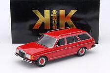 KK SCALE MODELS 1980 Mercedes Benz 250T W123 Kombi Red LE of 1500 1:18*New Item*