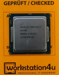 Intel Pentium G4400 > 3.30GHz > Socket LGA1151 > SR2DC > Skylake Processor CPU