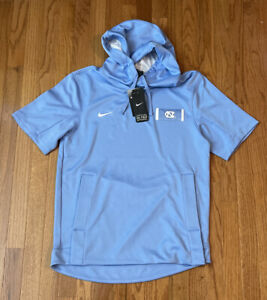 North Carolina Tar Heels UNC Nike Showout Short Sleeve Pullover Hoodie Large