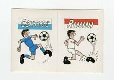 figurina CALCIO FLASH 1988 SCUDETTO CENTESE, RIMINI
