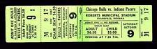 Oct 9 1976 Chicago Bulls vs Indiana Pacers FULL Ticket NBA vs ABA Preseason Game