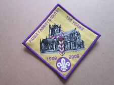 Paisley Abbey 100 Years Cloth Patch Badge Boy Scouts Scouting L3K D