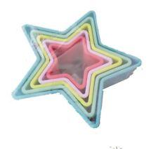 Formine e stampi per biscotti stelle lavabile in lavastoviglie