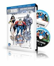 JLA: Earth 2 Book & DVD Set: Plus DC Universe Original Movie Justice League: Cri