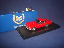 Bmw 3200 Michelotti Vignale red 1959 Bos-Models 43016 1:43