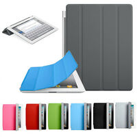 Fashion Luxury Ultra Thin Magnetic Leather Smart Cover Case for Apple iPad 2 3 4