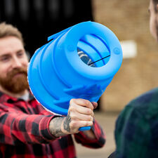 Airzooka - Fun air blasting / blowing toy air gun - blasts balls of air NEW blue