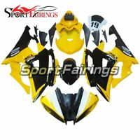 Injection Black Yellow Fairings For Yamaha YZF-600 R6 08 09 10 11 12 13 14 15 16