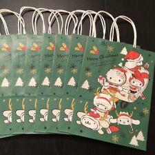 7 Hello Kitty Sanrio Christmas Holiday Gift Bag Shopping Bags Wrapping Paper