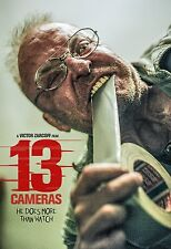 13 Cameras (DVD, 2016) Slumlord NEW SEALED Victor Zarcoff with Slipcover3
