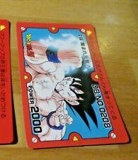 DRAGON BALL Z DBZ PP AMADA PART CARDDASS CARD CARTE 218 MADE IN JAPAN **